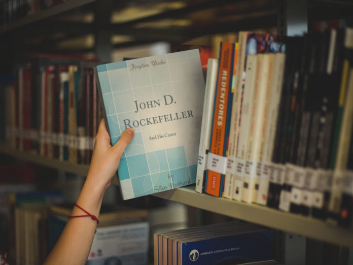 John D. Rockefeller and his career by Silas Hubbard